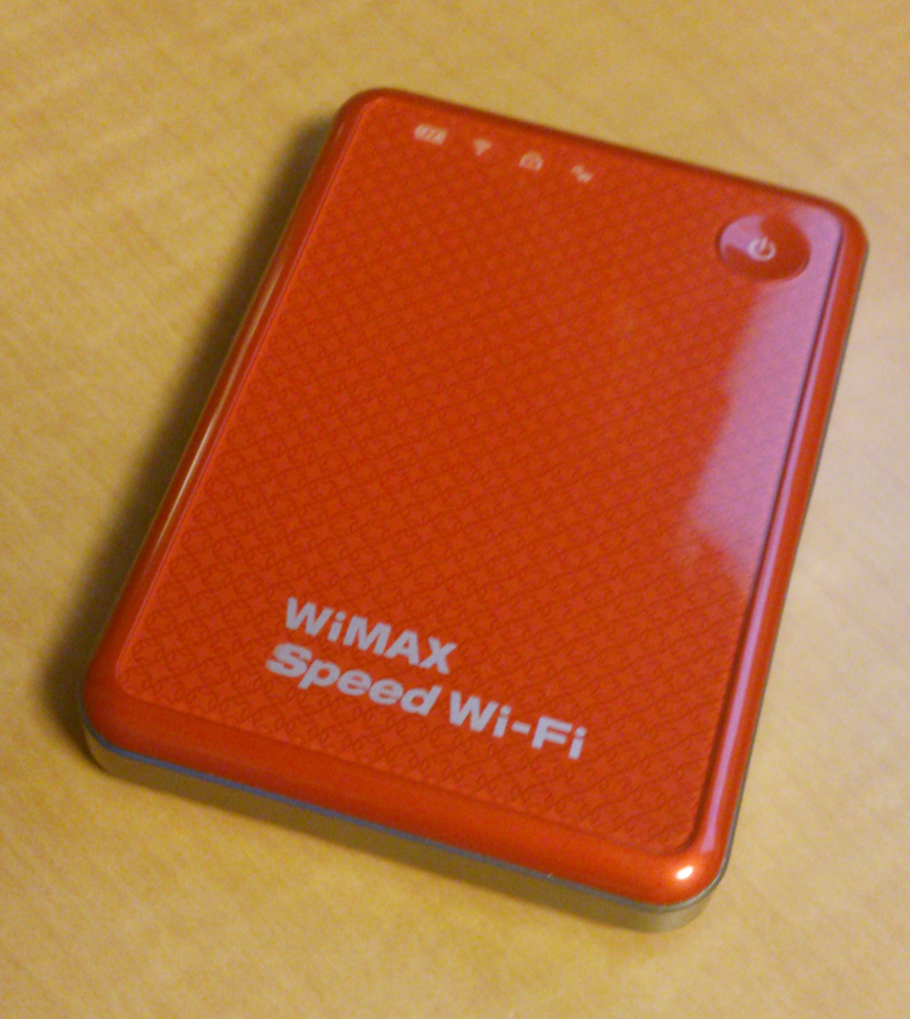 BIC WiMAXを契約&『URoad-SS10』を購入しました。