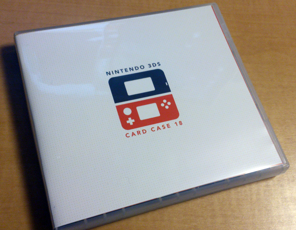 クラブニンテンドー『ニンテンドー3DSカードケース18』が届きました