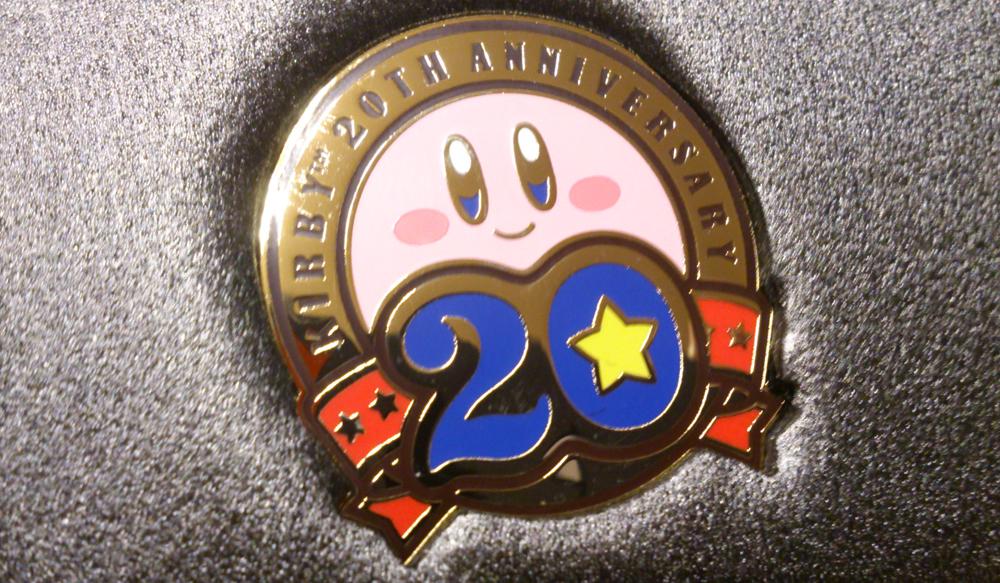 クラブニンテンドー『星のカービィ20周年記念メダル』が届きました