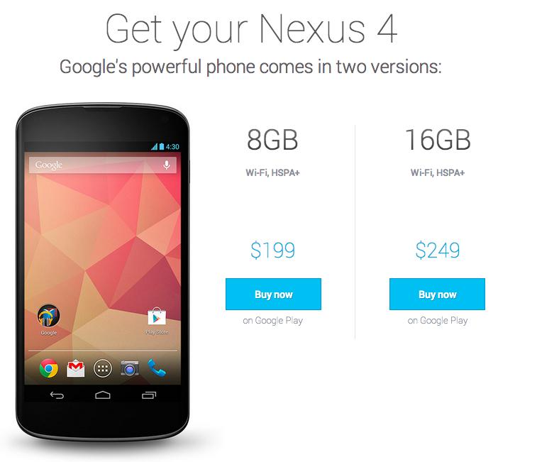 """Nexus4はどんな人に""""買い""""なのか?"""