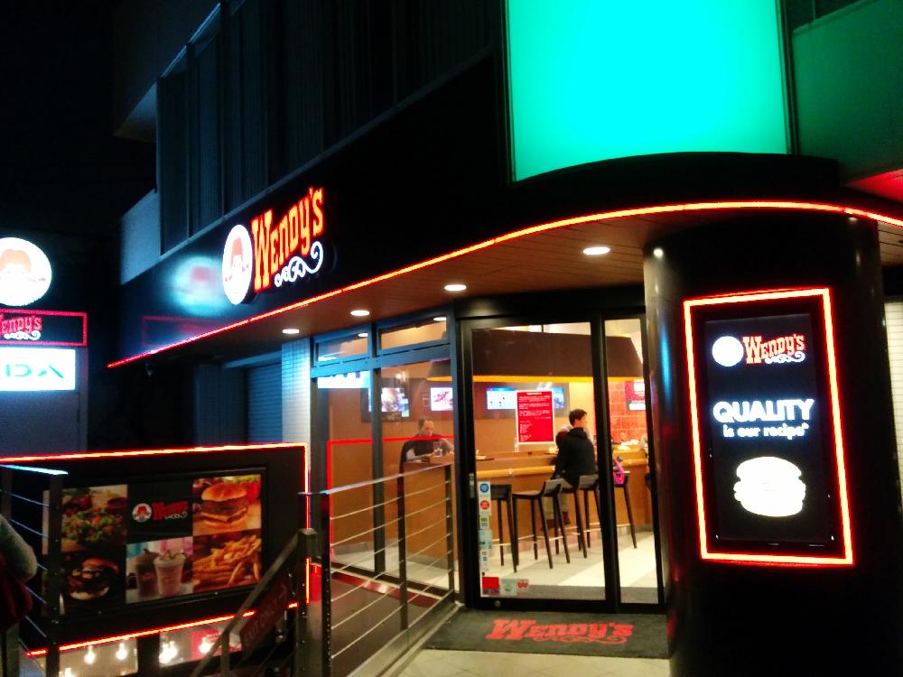12月30日に閉店するウェンディーズ表参道店に行ってきました