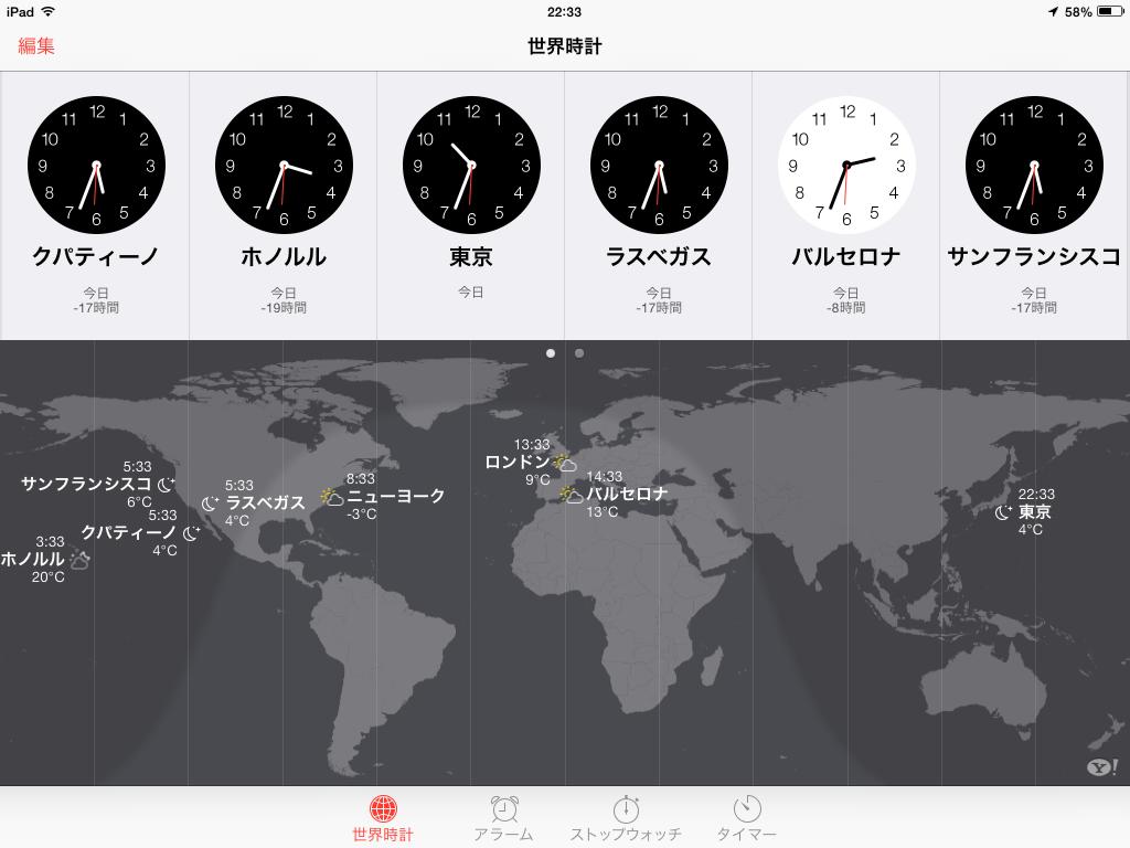 世界 時計