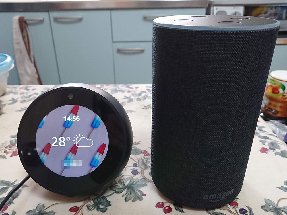 Amazon EchoとEcho Spot