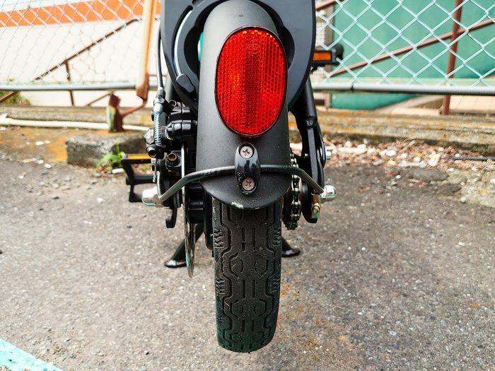 LUUP Cycle Liteの後輪