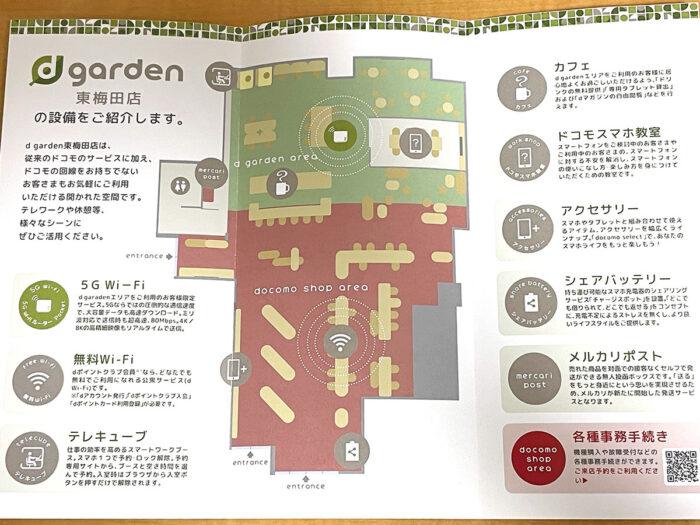 d garden 東梅田店 マップ